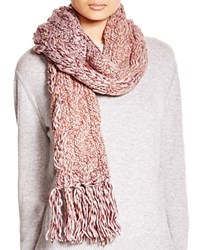 Ugg Australia Grand Meadow Novelty Cable Fringe Scarf Aster Multi