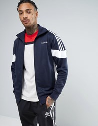 Adidas Originals Clr84 Track Jacket In Navy Bk5912 Navy