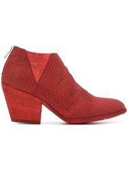 Officine Creative Jacqueline Boots Red