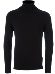 Ami Alexandre Mattiussi Turtle Neck Jumper Black