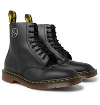 Undercover Dr. Martens 1460 Printed Leather Boots Black