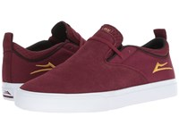 Lakai Riley 2 Burgundy Suede Shoes