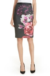 Ted Baker London Nevaya Splendour Pencil Skirt Black