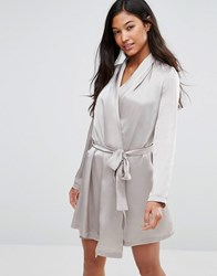 Vero Moda Satin Nightgown Ash Grey