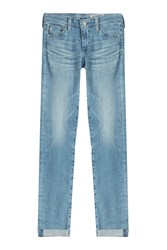 Ag Adriano Goldschmied Stilt Roll Up Skinny Jeans Gr. 32