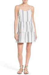 Women's Element 'Artus' Ticking Stripe Tiered Cotton Slipdress