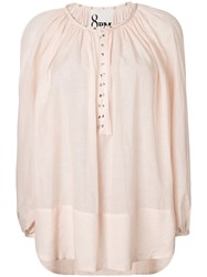 8Pm Luxembourg Blouse Nude And Neutrals