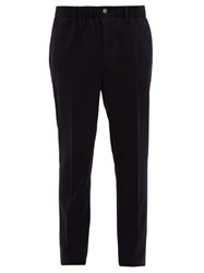 Incotex Tailored Relaxed Fit Trousers Navy