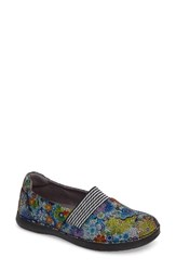 Alegria Women's Glee Slip On Sneaker Hippie Chic Dottie Leather