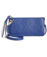 Inc International Concepts Austin Convertible Crossbody Pouch Only At Macy's Navy