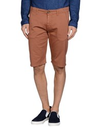 Reign Trousers Bermuda Shorts Men Brown
