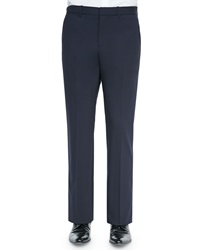 Theory Marlo New Tailor Suit Trousers Navy