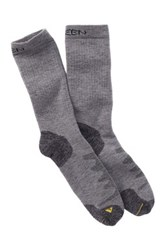 Keen Olympus Medium Crew Sock Gray