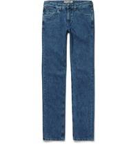 Loro Piana Stretch Denim Jeans Blue