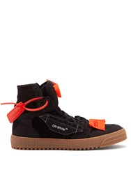 Off White Low 3.0 Suede Trainers Black