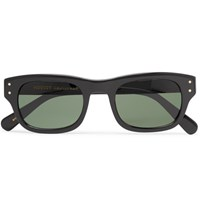 Moscot Nebb Square Frame Acetate Sunglasses Black