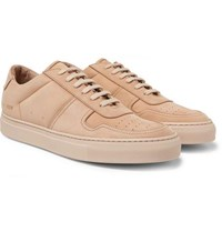 Common Projects Bball Suede Sneakers Neutral