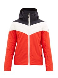 Fusalp Sands Technical Ski Jacket Red Multi
