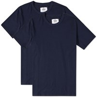 Reigning Champ Jersey Knit Tee 2 Pack Blue
