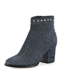 Jimmy Choo Melvin Studded 65Mm Bootie Blue