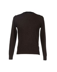 Private Lives Knitwear Jumpers Men Dark Brown