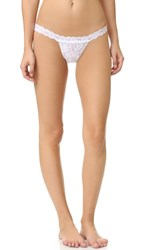 Hanky Panky Signature Lace G String White