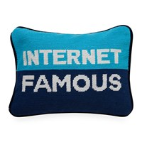 Jonathan Adler Uk Needlepoint Personality Pillow Internet Famous