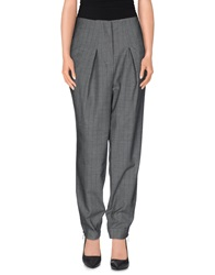 Oblique Casual Pants Grey