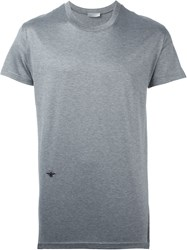 Christian Dior Dior Homme Round Neck T Shirt Grey