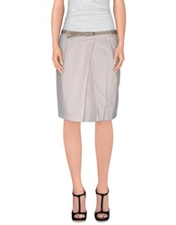 Fabiana Filippi Skirts Knee Length Skirts Women Ivory