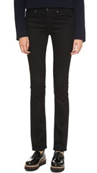 Ag Jeans The Harper Essential Straight Leg Jeans Overdyed Black