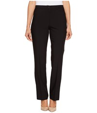 Tribal Petite Soft Twill Flatten It Straight Pants Original Fit 30 Black Women's Casual Pants
