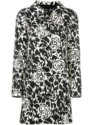 Herno Printed Coat Black