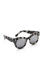 Valley Eyewear A Dead Coffin Club Sunglasses Snow Leopard Tort Black