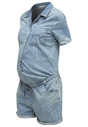 Noppies Jumpsuit Mid Bleu Blue Denim