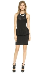 Sass And Bide The Bumper Issue Peplum Dress Black