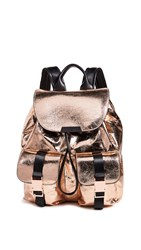 Kendall Kylie Lex Large Backpack Copper