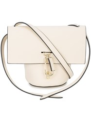 Zac Posen Belay Mini Crossbody Bag White