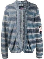 Paul And Shark Knitted Stripe Cardigan 60