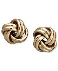 Macy's 18K Gold Earrings Love Knot Stud Earrings