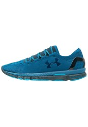 Under Armour Speedform Slingshot Lightweight Running Shoes Peacock Nova Teal Blue