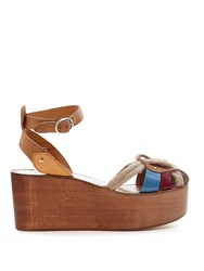 Isabel Marant Etoile Zelie Rope And Leather Wedges