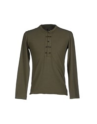 Ermanno Scervino Topwear T Shirts Men Military Green