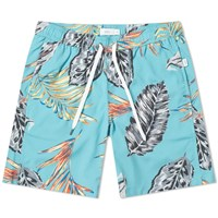 Onia Charles 7 Boca Palms Swim Short Green