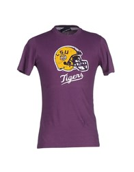 Atelier Fixdesign Topwear T Shirts Men Purple