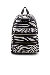 Marc Jacobs Zebra Biker Backpack Black And White