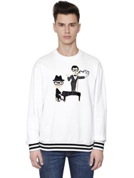 Dolce And Gabbana Piano Designers Cotton Sweatshirt