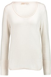Michael Michael Kors Cashmere Sweater White