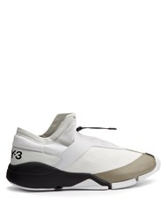Y 3 Future Toggle Tie Low Top Trainers White Multi