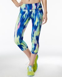 Ideology Trailblazer Printed Cropped Leggings Only At Macy's
